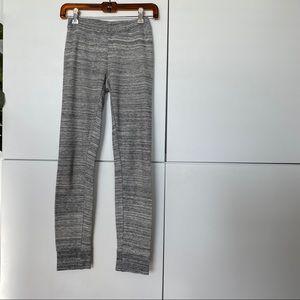 Alternative Apparel Grey Thermal Skinny Legging S